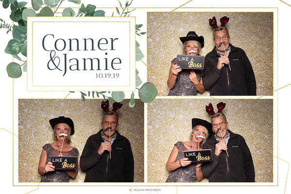 Conner & Jamie Wedding 10-19-19