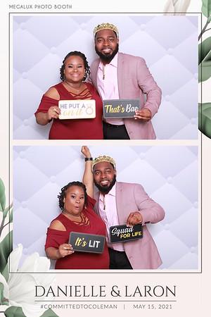 Danielle & Laron's Wedding 05-15-21