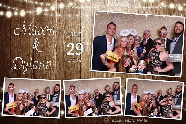 Dylann & Mason Wedding 06-29-19