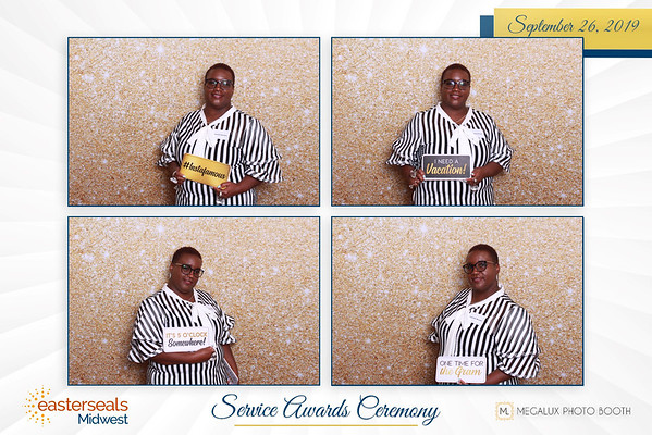 Easterseals Midwest Service Awards Ceremony 09-26-19