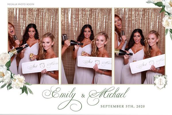 Emily & Michael's Wedding 09-05-20