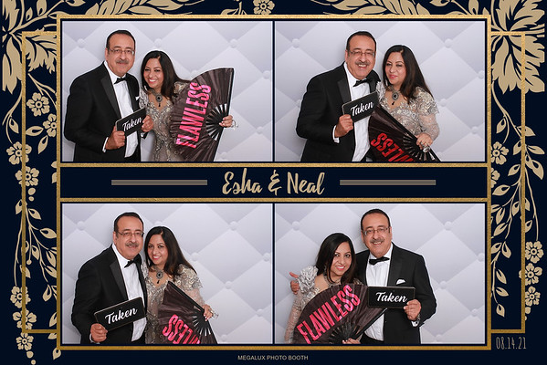 Esha & Neal's Wedding Reception 08-14-21