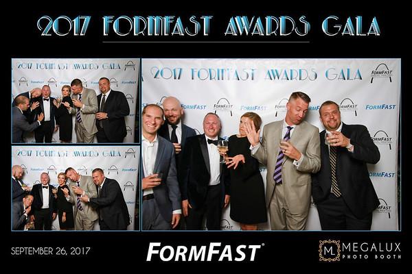 FormFast Awards Gala at Hyatt Regency 09-26-17