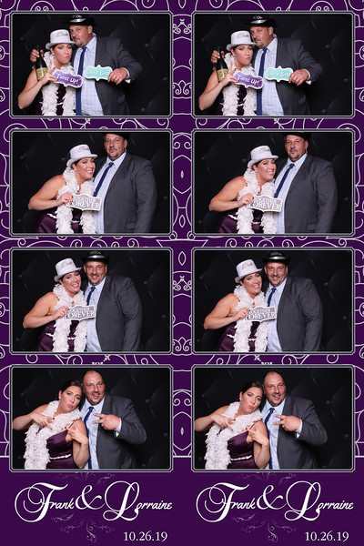 Frank & Lorraine Wedding 10-26-19