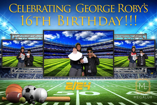George Roby's 16th Bday at Missouri Athletic Club 02-24-18