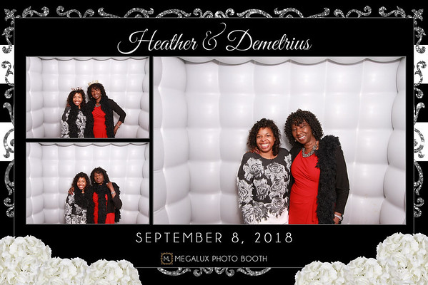 Heather & Demetrius Wedding 09-08-18