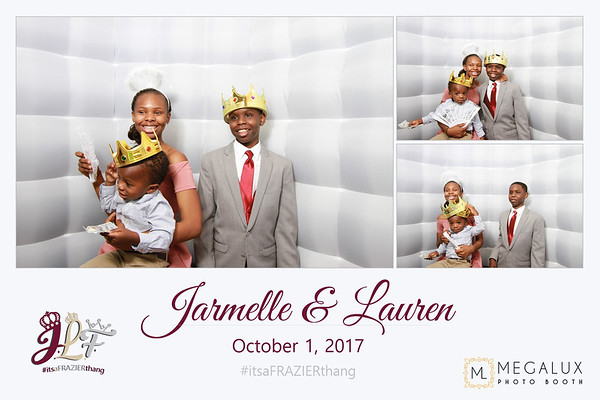 Jarmelle & Lauren Wedding 10-01-17