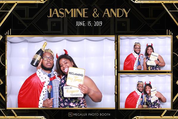 Jasmine & Andy Wedding 06-15-19