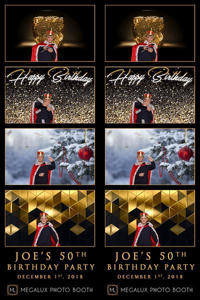 Joe's 50th Birthday 12-01-18