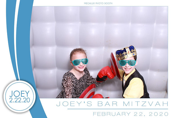 Joey's Bar Mitzvah 02-22-20