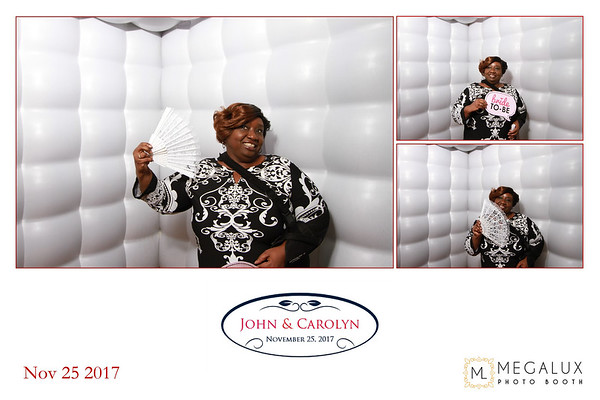 John & Carolyn Wedding 11-25-17