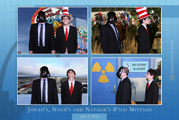 Jonah, Noah, and Natalie's B'Nai Mitzvah 05-04-19