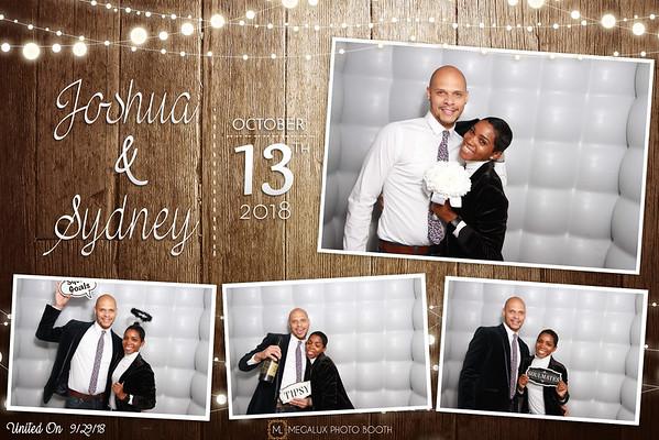 Joshua & Sydney Wedding 10-13-18