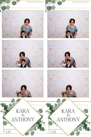 Kara & Anthony's Wedding Reception 07-03-21