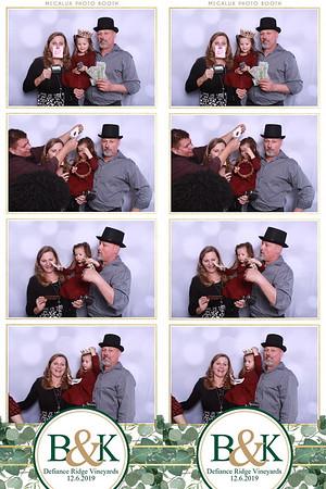 Kathryn & Ben Wedding 12-06-19