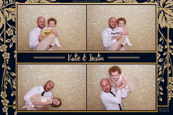Katie & Justin's Wedding Reception 01-02-21
