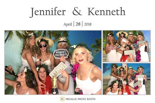 Kenneth & Jennifer Wedding 04-28-18