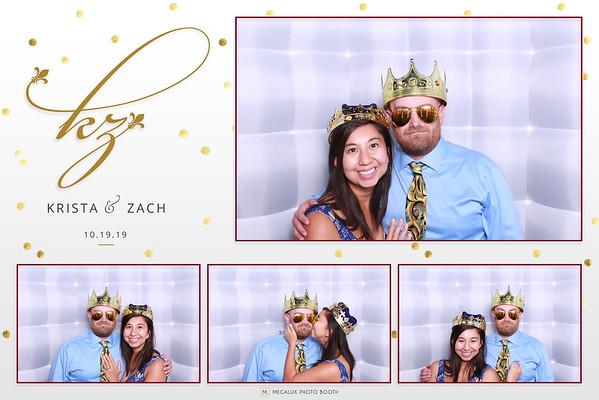 Krista & Zack Wedding 10-19-19