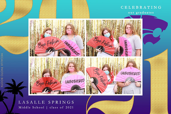 Lasalle Springs Middle School Class of 2021 06-02-21