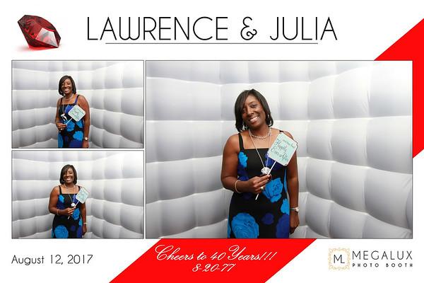 Lawrence & Julia's 40th Wedding Anniversary 08-12-17