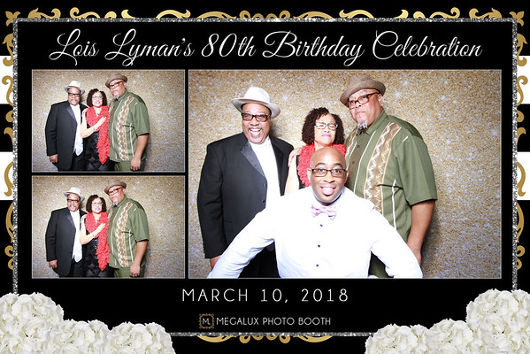 Lois Lyman's 80th Birthday Celebration
