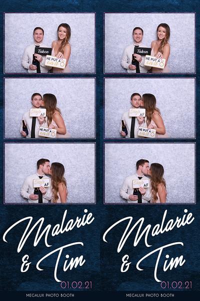 Malarie & Tim's Wedding 01-02-21