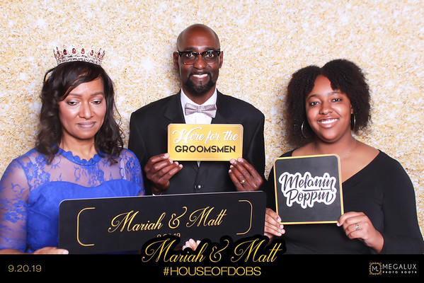 Mariah & Matt Wedding 09-20-19