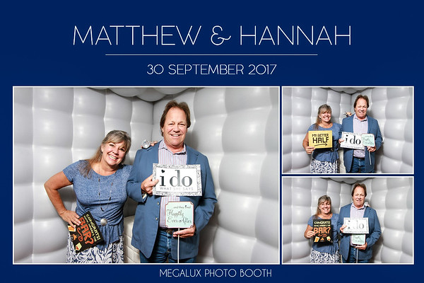 Mathew & Hannah Wedding 09-30-17