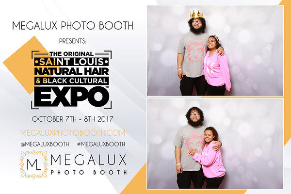 Megalux Photo Booth Presents - The St. Louis Natural Hair & Black Cultural Expo Oct 7-8 2017