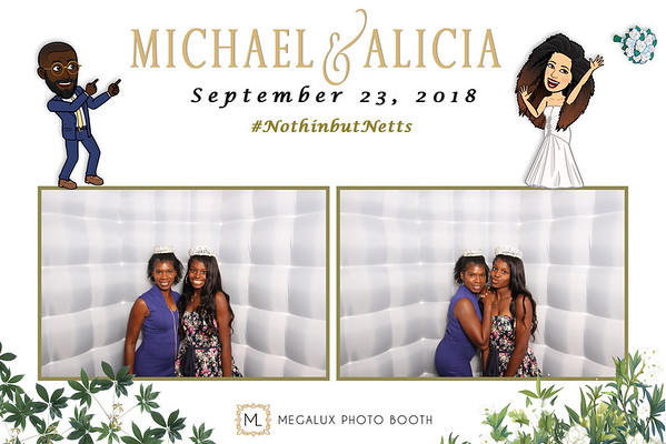 Michael & Alicia Wedding 09-23-18