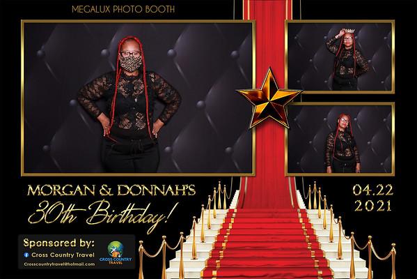 Morgan & Donnah's 30th Birthday 04-22-21