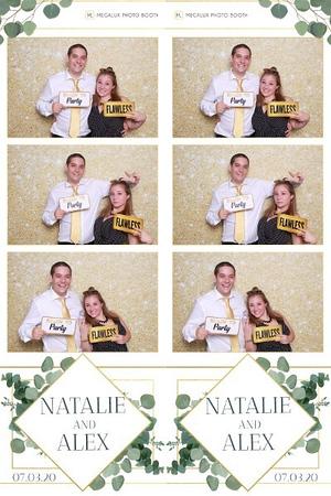 Natalie & Alex Wedding 07-03-20