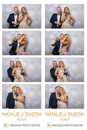Natalie & Dustin Wedding 10-14-17