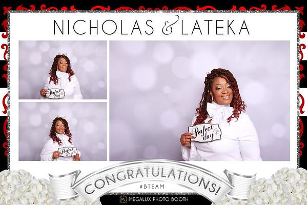 Nicholas & Lateka Wedding 07-28-18