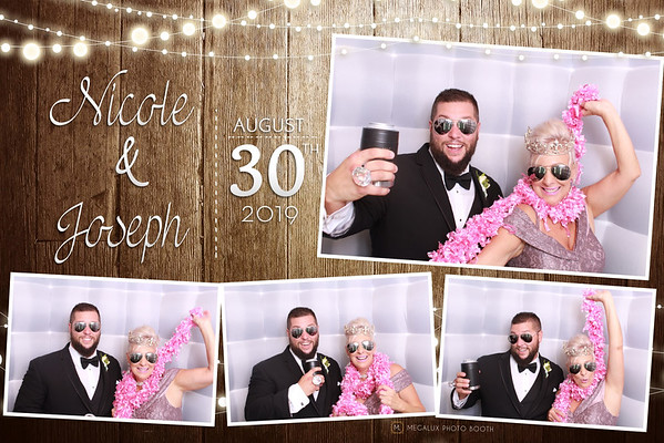 Nicole & Joseph Wedding 08-30-19