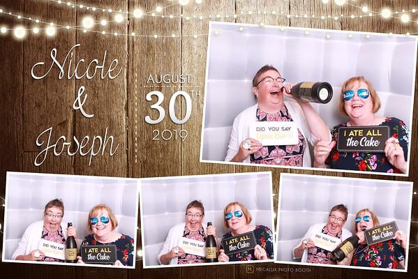 Nicole & Joseph Wedding 08-30-19