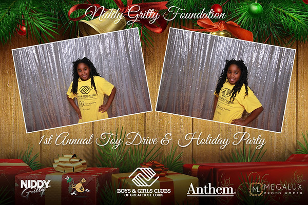 Niddy Gritty Foundation 1st Annual Holiday Party 12-14-17