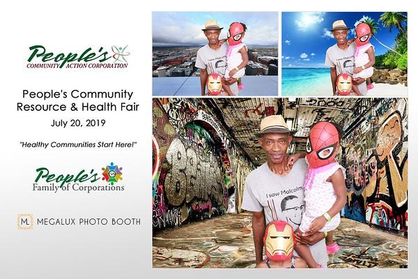 People's Community Resource & Health Fair 07-20-19