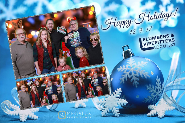 Plumbers & Pipefitters Local 562 Holiday Party 12-09-17