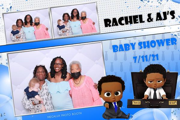 Rachel & AJ's Baby Shower 07-11-21