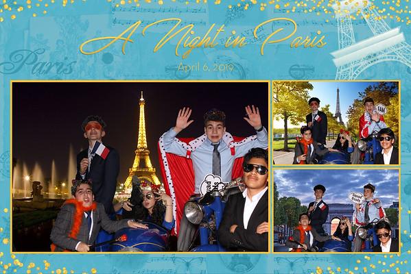 """Rebecca's Bat Mitzvah """"A Night In Paris"""" 04-06-19"""