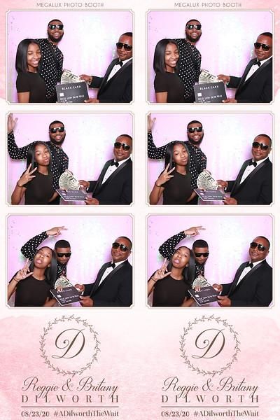 Reggie & Brittany's Wedding 08-23-20