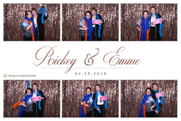 Rickey & Emme Wedding 04-28-18