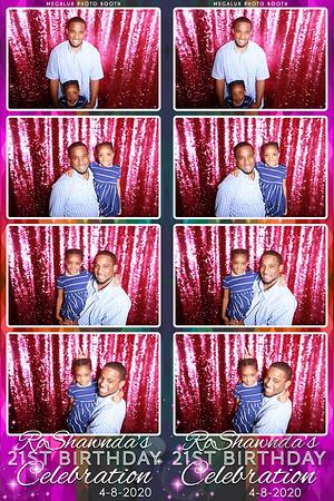RoShawnda's 21st Birthday Celebration 08-01-20
