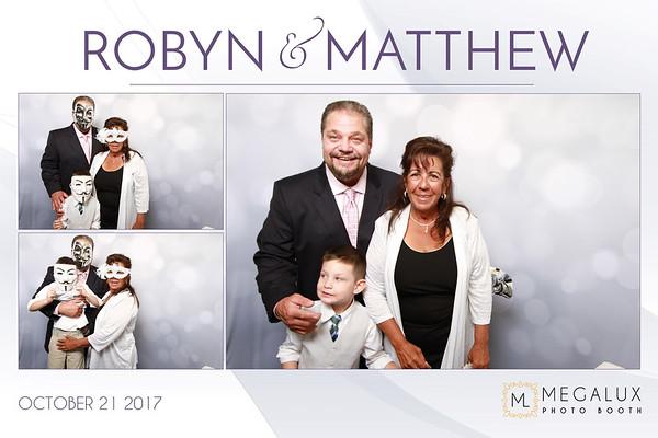 Robyn & Matthew Wedding 10-21-17