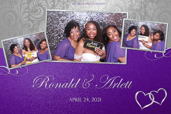 Ronald & Arlett's Wedding 04-24-21
