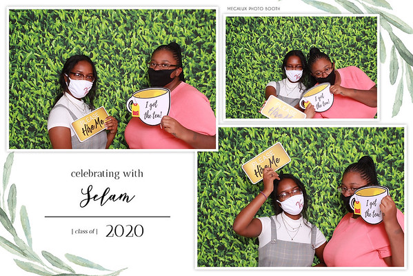 Selam's Graduation Party 07-30-20