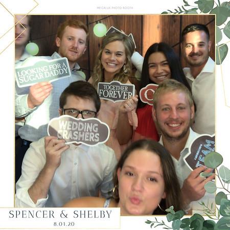 Spencer & Shelby's Wedding 08-01-20