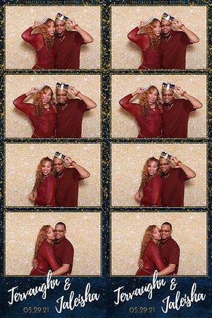 Tervaughn & Jaleisha Wedding 05-29-21