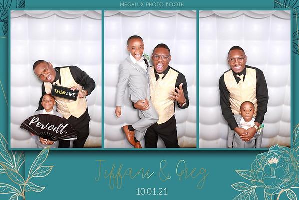 Tiffani & Greg's Wedding Reception 10-01-21